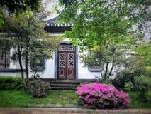 angolo stile Unione Sovietica del giardino immagine stock