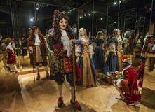 Angolo storico nel museo di Grevin fotografie stock libere da diritti