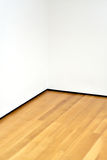 Angolo vuoto dell'interiore della stanza Fotografie Stock