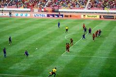 Angolski versus Południowa Afryka Obraz Stock