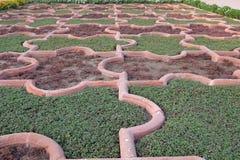 Angoori Bagh ή κήπος των σταφυλιών στο κόκκινο οχυρό Agra Στοκ Εικόνα