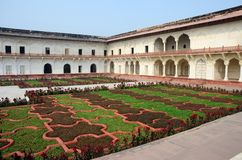 Angoori Bagh or Garden of Grapes,Agra fort,India Royalty Free Stock Photography