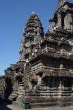 angor柬埔寨wat 免版税库存图片