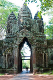 Angor Thom gate Royalty Free Stock Photos