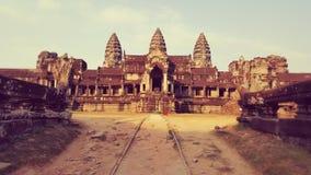 Angor Wat, Καμπότζη Στοκ Φωτογραφίες