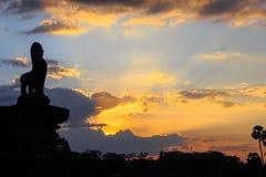 Angor Wat, arquitetura antiga em Camboja fotos de stock royalty free