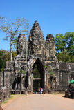 Angor wat entrance gate Royalty Free Stock Images