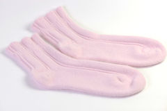 Angora socks Royalty Free Stock Image