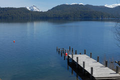 Angostura pier Stock Photography