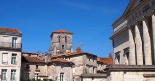 Angoulême, Zuidwestenfrankrijk stock foto's