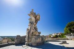 Angouleme, Γαλλία Άγαλμα Lazare Carnot (1753 - 1823) Στοκ Εικόνα