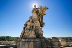 Angouleme, Γαλλία Άγαλμα Lazare Carnot (1753 - 1823) Στοκ Φωτογραφία