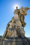 Angouleme, Γαλλία Άγαλμα Lazare Carnot (1753 - 1823) Στοκ φωτογραφία με δικαίωμα ελεύθερης χρήσης