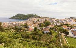 Angra делает Heroismo, остров Terceira, Азорские островы стоковые фото