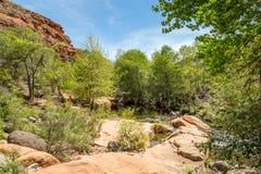 Angra clara ocidental o Arizona fotos de stock