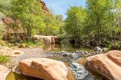 Angra clara ocidental o Arizona imagem de stock