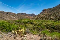 Angra clara ocidental o Arizona imagens de stock