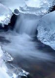 Angra congelada Fotografia de Stock Royalty Free