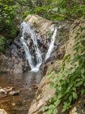 A angra da cabine cai em Grayson Highlands State Park imagem de stock royalty free