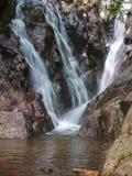 A angra da cabine cai em Grayson Highlands State Park imagens de stock