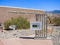 Angra da fornalha, o Vale da Morte Fotos de Stock Royalty Free