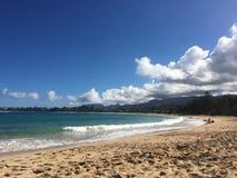 Angra da praia de Havaí Fotografia de Stock Royalty Free