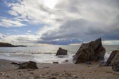 Angra de Ayrmer, Devon, Inglaterra imagem de stock royalty free