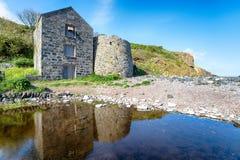 Angra de Carleon em Cornualha Imagem de Stock Royalty Free