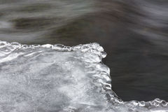 Angra de congelação Fotos de Stock Royalty Free