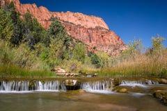 Angra de Verkin do La - Zion National Park Foto de Stock Royalty Free