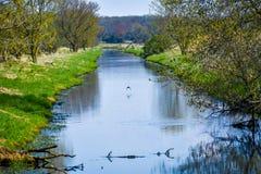 Angra de Whitewater - o Condado de Walworth, Wisconsin imagem de stock