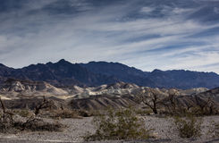 Angra Death Valley da fornalha Fotografia de Stock Royalty Free