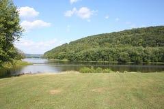 Angra do francês do rio de Allegheny Fotografia de Stock Royalty Free