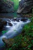 Angra do furacão, Ozark Mountains, Arkansas foto de stock royalty free