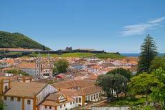 Angra do Heroismo, νησί Terceira, Αζόρες Στοκ φωτογραφία με δικαίωμα ελεύθερης χρήσης