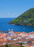 Angra do Heroismo, νησί Terceira, Αζόρες Στοκ εικόνα με δικαίωμα ελεύθερης χρήσης