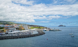 Angra do Heroismo, νησί Terceira, Αζόρες Στοκ Φωτογραφίες