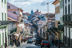 Angra do Heroismo Royalty Free Stock Images