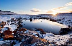 Angra do inverno fotos de stock royalty free