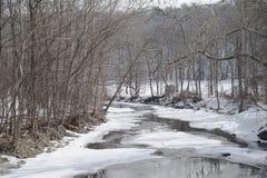 Angra do inverno Imagem de Stock Royalty Free