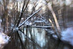 Angra do inverno Imagens de Stock Royalty Free