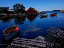 Angra do ` s de Peggy, Nova Scotia - Canadá fotografia de stock royalty free