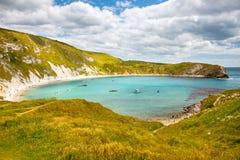Angra Dorset de Lulworth Fotografia de Stock