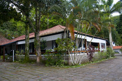 Angra dos的Reis海滨别墅 免版税图库摄影
