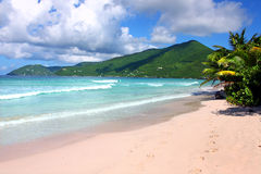 Angra dos contrabandistas em Tortola (BVI) Imagem de Stock Royalty Free