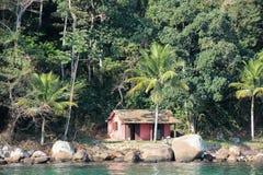 Angra DOS stora Reis och Ilha är turist- destinationer i Rio de Janeiro Arkivfoto