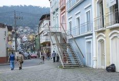 Angra-Dos van de binnenstad Reis, Brazilië Royalty-vrije Stock Foto's