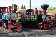 Angra e Victor Narrow Gauge Railroad do aleijado Imagem de Stock Royalty Free
