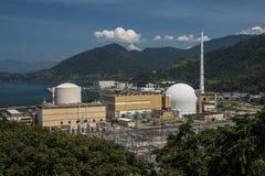 Angra elektrownia jądrowa Zdjęcia Royalty Free