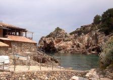 Angra em Mallorca Foto de Stock